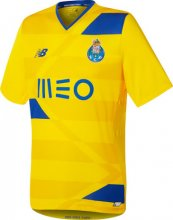 Porto Jersey 2016/17 Third Yellow Soccer Shirt