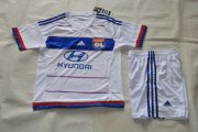 Lyon Youth Jersey 2015/16 Home Soccer Kids Kits