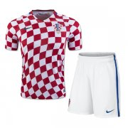 Croatia 2016-17 Home Soccer Uniform (Shirt+Shorts)