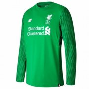 Liverpool Jersey 2017/18 Green Goalkeeper LS Soccer Shirt