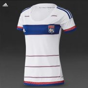 Lyon Jersey 2015/16 Women's Home Soccer Shirt