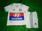 Lyon Jersey 2017/18 Home Soccer Kids Kit