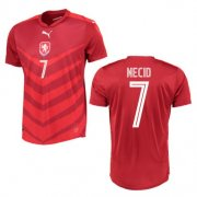 Czech Jersey 2016 Home Red Soccer Shirt #7 Necid