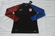 USA Jersey 2016/17 Away LS Soccer Shirt