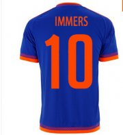 Feyenoord Jersey 2015/16 Away Soccer Shirt #10 IMMERS