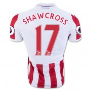 Stoke City Jersey 2016/17 Home Soccer Shirt Jersey #17 SHAWCROSS