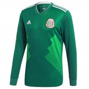 Mexico 2018-19 LS Home Soccer Jerseys