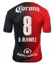 Atlas Jerseys 2016/17 Home Soccer Shirt #8 D.ALVAREZ