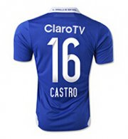 Chile Universidad 2015/16 Home Soccer Jersey #16 CASTRO