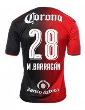 Atlas Jerseys 2016/17 Home Soccer Shirt #8 M.BARRAGAN