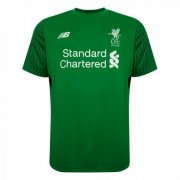 Liverpool Jersey 2017/18 Green Goalkeeper Soccer Shirt