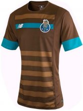 Porto Jersey 2015/16 Away Brown Soccer Shirt