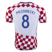 Croatia 2016-17 Home Soccer Shirt #8 Prosinecki
