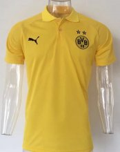 Dortmund Jersey 2017/18 Yellow Soccer POLO Shirts
