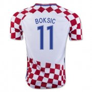 Croatia 2016-17 Home Soccer Shirt #11 Boksic