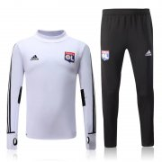 Lyon Jersey 2017/18 White Soccer Sweater Uniform