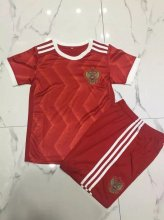 Russia Youth Jerseys 2017/18 Home Soccer Kids Kit