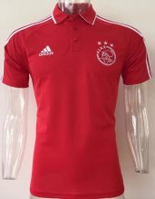 Ajax Jersey 2017/18 Red Soccer POLO Shirt