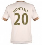 Swansea City Jersey 2015/16 Home Soccer Shirt #20 MONTERO