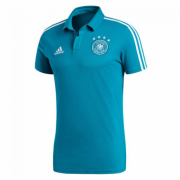 Germany 2018 World Cup Blue Polo