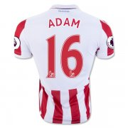 Stoke City Jersey 2016/17 Home Soccer Shirt Jersey #16 ADAM