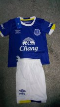 Everton Youth Jersey 2016/17 Home Soccer Shirt Kids Kits