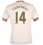 Swansea City Jersey 2015/16 Home Soccer Shirt #14 TABANOU