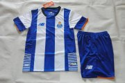 Porto Youth Jersey 2015/16 Home Soccer Shirt Kids Kits