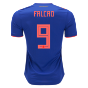 Colombia 2018 World cup Radamel Falcao #9 Away Soccer Jersey