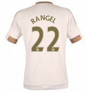 Swansea City Jersey 2015/16 Home Soccer Shirt #22 RANGEL