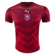 Czech Jersey 2016 Home Red Soccer Shirt