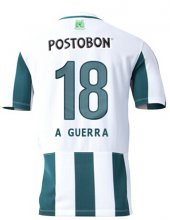 Atletic National Jersey 2015/16 Home Soccer Shirt #18 A GUERRA