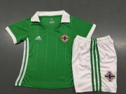 Northern Ireland Youth Jersey 2018 Home Soccer Shirt Kids Kits