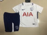 Tottenham HotSpurs Youth Jersey 2017/18 Home Soccer Shirt Kids Kit
