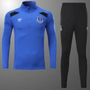 Everton Jersey 2017/18 Blue Soccer Sweater Hoodies Uniform