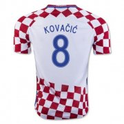 Croatia 2016-17 Home Soccer Shirt #8 Kovacic