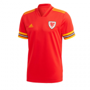 Wales Jersey 2020 Euros Home Red Soccer Shirt