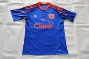 Chile Universidad 2015/16 Blue Soccer Jersey