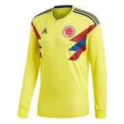 Colombia 2018-19 Home LS Soccer Shirt