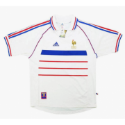 Retro 1998 France Away Soccer Jersey