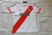 River Plate Jersey 2015/16 Home White Soccer Shirt