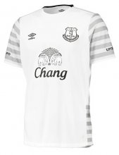 Everton Jersey 2015/16 Away White Soccer Shirt