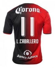 Atlas Jerseys 2016/17 Home Soccer Shirt #11 L.CABALLERO
