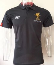 Liverpool Jersey 2017/18 Adidas Grey Soccer POLO Shirt
