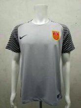 China Jersey 2016/17 Grey Goalkeeper Soccer Shirt
