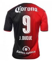 Atlas Jerseys 2016/17 Home Soccer Shirt #9 J.DUQUE