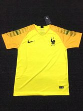 France 2018 World Cup GoalKeeper Yellow Soccer Jersey