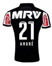 Atletico Mineiro Jersey 2015/16 Home Soccer Shirt #21 ANDRE