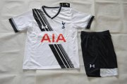 Tottenham HotSpurs Youth Jersey 2015/16 Home Soccer Shirt Kids Kits