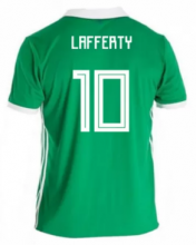 Northern Ireland Jersey 2018 World Cup Home Soccer Shirt #10 Lafferty